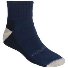 Woolrich Ten Mile Socks - Merino Wool, Quarter-Crew (For Men) in Dark Denim - Closeouts