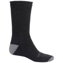 Woolrich Ten-Mile Solid Hiking Socks - Merino Wool Blend, Crew (For Men) in Black/Grey - Closeouts