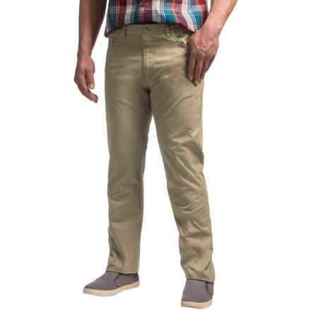 Woolrich The Guide Pants - 5-Pocket (For Men) in Khaki - Closeouts