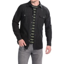 Woolrich Tiadaghton Shirt Jacket (For Men) in Black - Closeouts