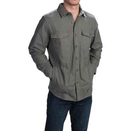 Woolrich Tiadaghton Shirt Jacket (For Men) in Field Gray - Closeouts
