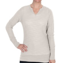 Woolrich Tidewater Sweater - Sheer (For Women) in Winter White - Closeouts