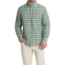 Woolrich Timber Valley Plaid Shirt - Long Sleeve (For Men) in Vine Green - Closeouts