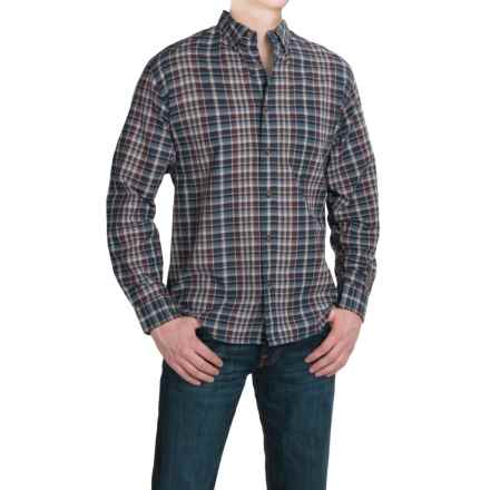 Woolrich Timberline Madras Plaid Shirt - Long Sleeve (For Men) in Dark Plum - Closeouts