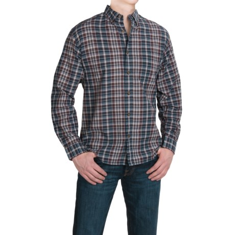 Woolrich Timberline Madras Plaid Shirt Long Sleeve (For Men)