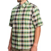 Woolrich Timberline Shirt - Short Sleeve (For Men) in Fern - Closeouts