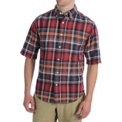 Woolrich Timberline Shirt - Short Sleeve (For Men) in Legion Blue