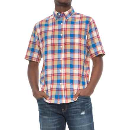 Woolrich Timberline Shirt - Short Sleeve (For Men) in Old Red - Closeouts