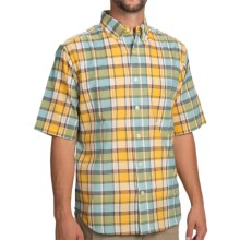 Woolrich Timberline Shirt - Short Sleeve (For Men) in Sunglow - Closeouts
