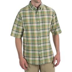 Woolrich Timberline Shirt - Short Sleeve (For Men) in Barn Multi