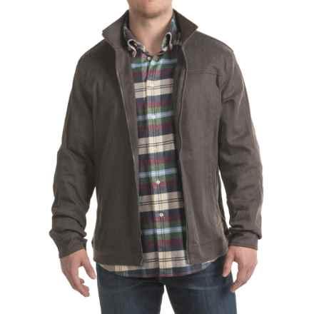 Woolrich Tioga Jacket (For Men) in Dark Walnut Herringbone - Closeouts