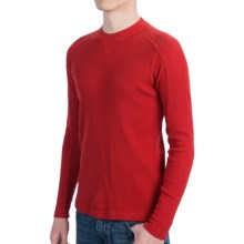 Woolrich Tioga Shirt - Crew Neck, Long Sleeve (For Men) in Old Red - Closeouts