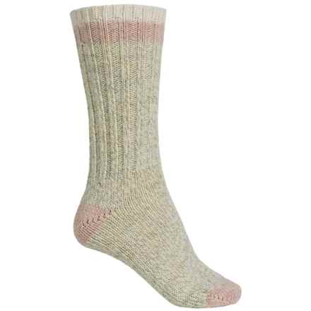 Woolrich Tipped Heavy Ragg Wool Socks - Merino Wool, Crew (For Men) in Natural - Closeouts
