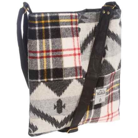 Woolrich Tote Bag (For Women) in Black/Grey/Natural Multi - Closeouts