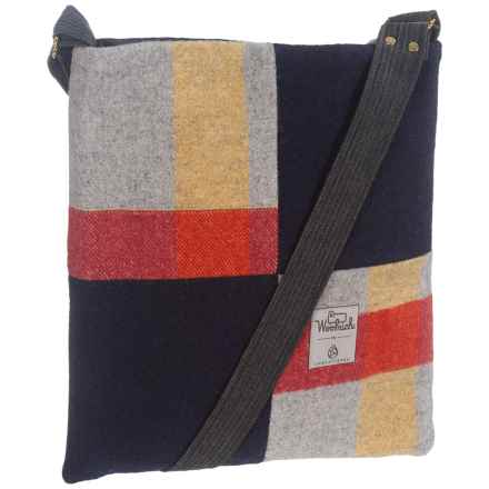 Woolrich Tote Bag (For Women) in Grey/Red Plaid/Navy - Closeouts