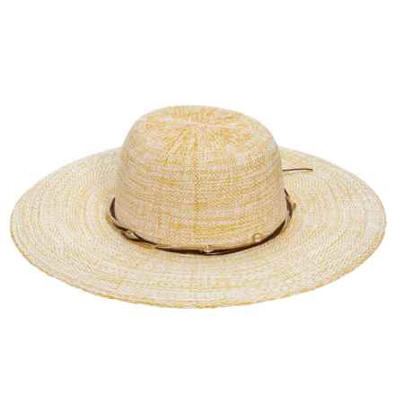 Woolrich Toyo Fedora with Braid (For Women) in Natural - Closeouts