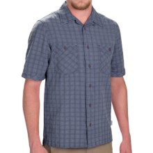Woolrich Traction Shirt - Short Sleeve (For Men) in Deep Blue Sea - Closeouts