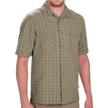 Woolrich Traction Shirt - Short Sleeve (For Men) in Laurel - Closeouts