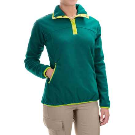 Woolrich Trail Blazing Fleece Jacket (For Women) in Deep Teal - Closeouts