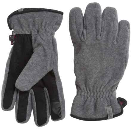 Woolrich Trail Blazing Gloves - Insulated, Touchscreen Compatible (For Men) in Charcoal Heather - Closeouts