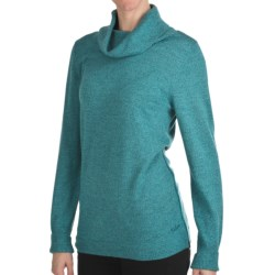 Woolrich Trailblazer Cowl Neck Sweater - Merino Wool (For Women) in Atlantic