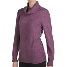 Woolrich Trailblazer Cowl Neck Sweater - Merino Wool (For Women) in Blackberry - Closeouts