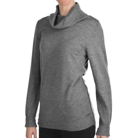 Woolrich Trailblazer Cowl Neck Sweater - Merino Wool (For Women) in Charcoal