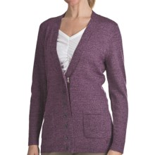 Woolrich Trailblazer Zip Front Cardigan Sweater - Merino Wool (For Women) in Blackberry - Closeouts