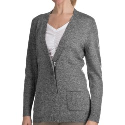 Woolrich Trailblazer Zip Front Cardigan Sweater - Merino Wool (For Women) in Winter White