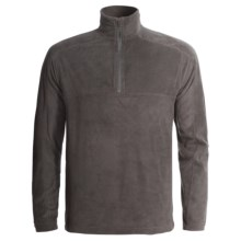 Woolrich Transit Fleece Shirt - Zip Neck, Long Sleeve (For Men) in Slate - Closeouts