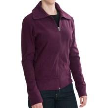 Woolrich Transit Jacket - Recycled Fleece (For Women) in Blackberry - Closeouts