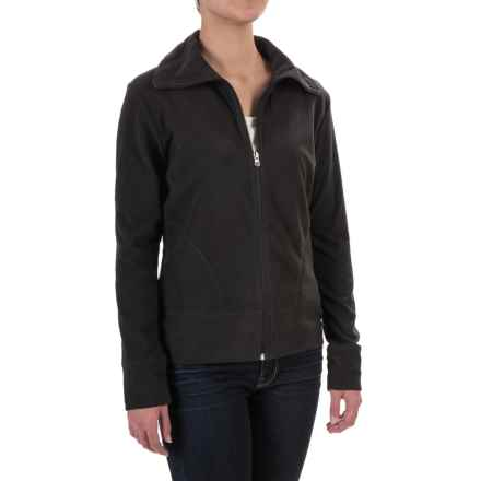 Woolrich Transit Jacket - Recycled Fleece (For Women) in Black - Closeouts