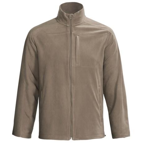 Woolrich Transit Microfleece Jacket (For Men) in Shale