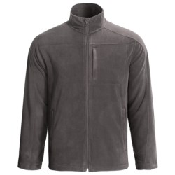 Woolrich Transit Microfleece Jacket (For Men) in Shale