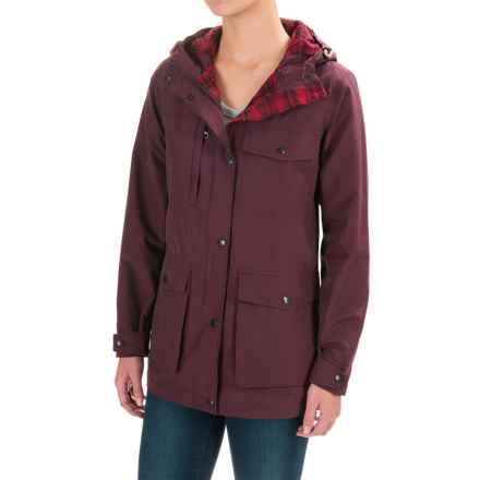 Woolrich Transition Mountain Parka (For Women) in Wine - Closeouts