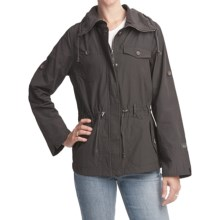 Woolrich Trekking Jacket - UPF 40+, Water Resistant (For Women) in Cinder - Closeouts
