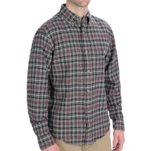 Woolrich Trout Run Flannel Shirt - Long Sleeve (For Men) in Moccasin - Closeouts