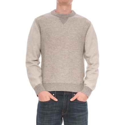 Woolrich Twill Sweatshirt (For Men) in Geyser - Closeouts