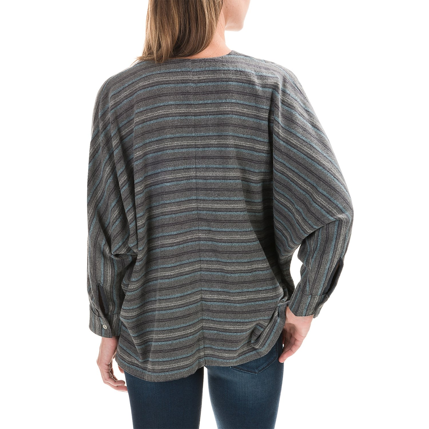 Woolrich Twisted Rich Oversized Flannel Shirt For Women