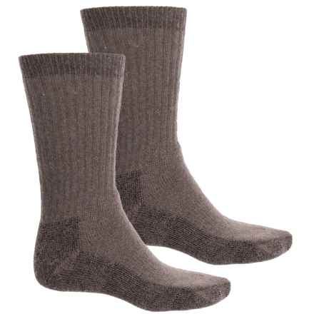Woolrich Ultimate Socks - 2-Pack, Crew (For Men) in Taupe - Closeouts