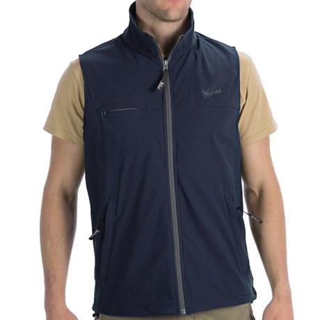 Woolrich Vector Vest - UPF 40+, DWR, Wind Resistant (For Men) in Deep Indigo