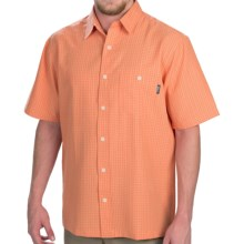 Woolrich Vireo Shirt - Short Sleeve (For Men) in Burnt Orange - Closeouts