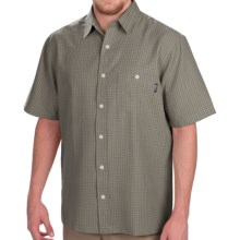Woolrich Vireo Shirt - Short Sleeve (For Men) in Fieldstone - Closeouts
