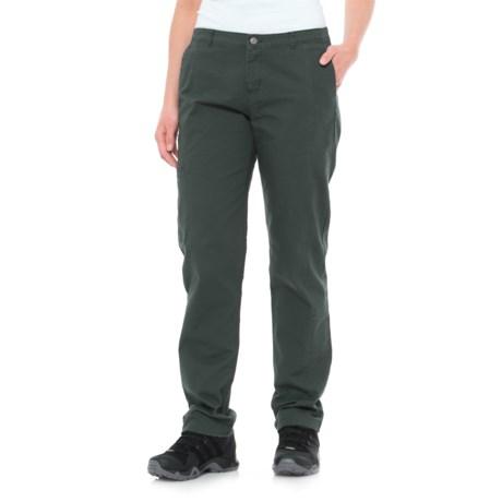 Woolrich Vista Pants - Straight Fit (For Women) in Blue Fir