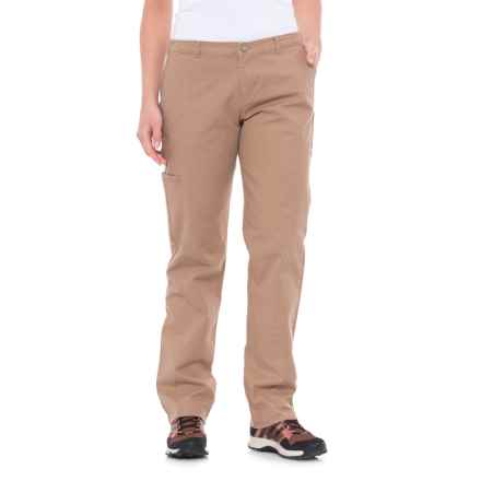 Woolrich Vista Pants - Straight Fit (For Women) in Warm Khaki - Closeouts