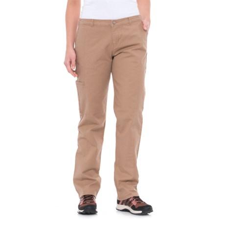 Woolrich Vista Pants - Straight Fit (For Women) in Warm Khaki