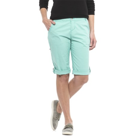 Woolrich Vista Point Convertible Capris - Organic Cotton (For Women)