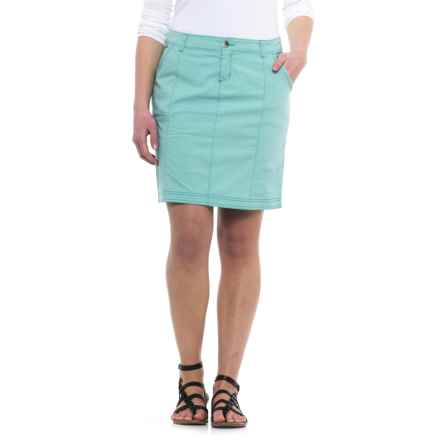 Woolrich Vista Point Eco Rich Skirt - Organic Cotton (For Women) in Sky Blue - Closeouts