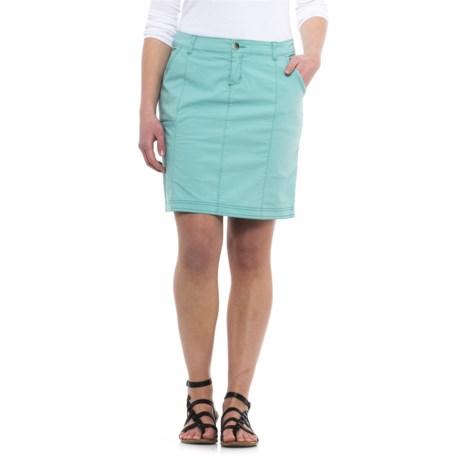 Woolrich Vista Point Eco Rich Skirt - Organic Cotton (For Women) in Sky Blue