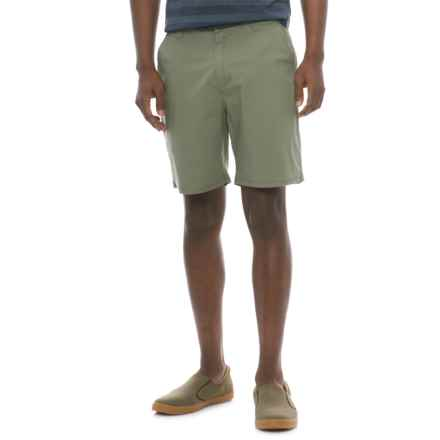 Woolrich Vista Point Eco Shorts - Organic Cotton (For Men) in Lichen Green - Closeouts